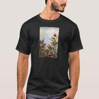 Blue Bonnets and Canna Lilies T-Shirt