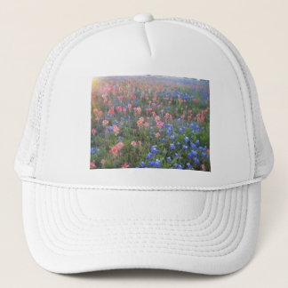 Blue Bonnets and Indian Paint Brushes Trucker Hat
