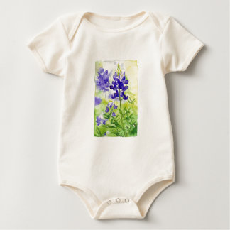Blue Bonnets Baby Bodysuit