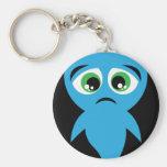 Blue Boo Key Chain