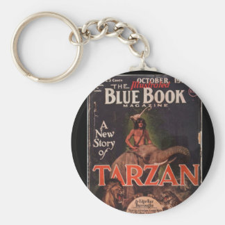 Blue Book - October 1928-7_Pulp Art Keychain