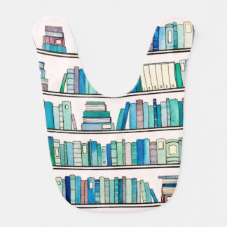 Blue Books Baby Bib