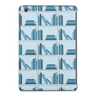 Blue Books on Shelf iPad Mini Cases
