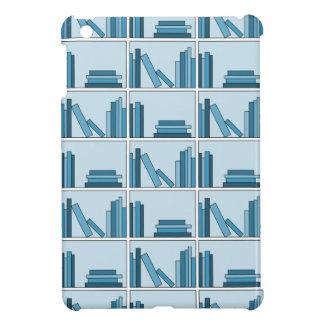 Blue Books on Shelf Cover For The iPad Mini