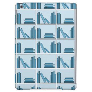 Blue Books on Shelf Case For iPad Air