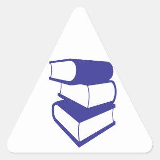 Blue Books Triangle Sticker