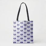 Blue BorelBull Tote Bag