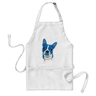 Blue Boston Terrier Aprons