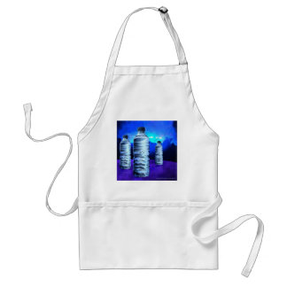 Blue Bottles (Apron) Adult Apron