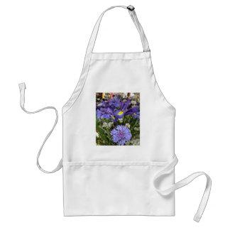 Blue Bouquet Adult Apron