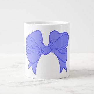 Blue Bow Jumbo Mug