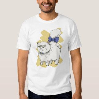Blue Bow Persian T-shirt