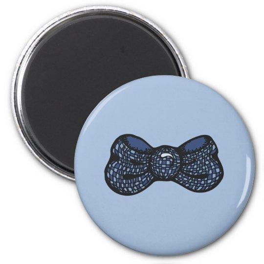 Blue Bow Tie Magnet