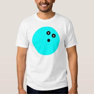 Blue Bowling Ball T Shirt