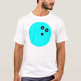 Blue Bowling Ball T-Shirt