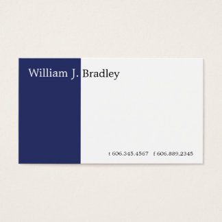 Blue Box Business Card