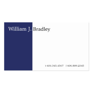 Blue Box Double-Sided Standard Business Cards (Pack Of 100)