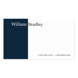 Blue Box IIb Double-Sided Standard Business Cards (Pack Of 100)