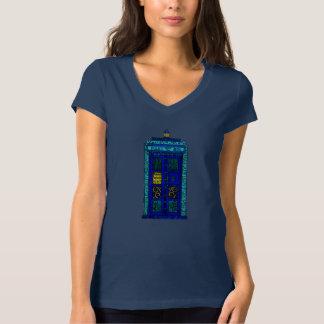 Blue Box - Women's Bella Jersey V-Neck T-Shirt