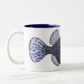 blue boxfish coffee mugs