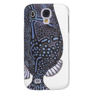 blue boxfish samsung galaxy s4 cover