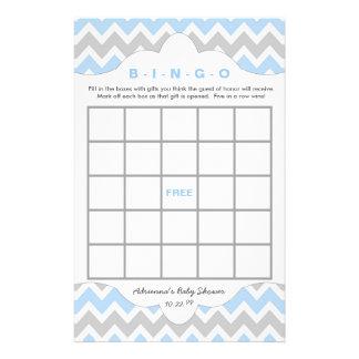 Blue BOY Bingo purse baby shower TWO GAME SET Flyer