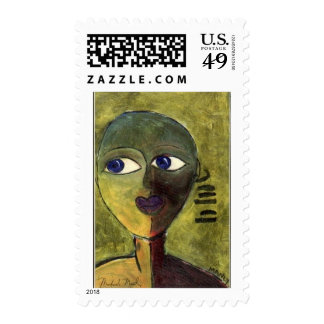 Blue Boy Postage Stamp