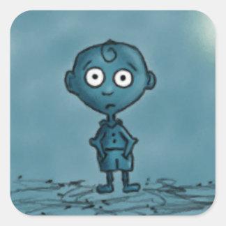 Blue Boy Stickers