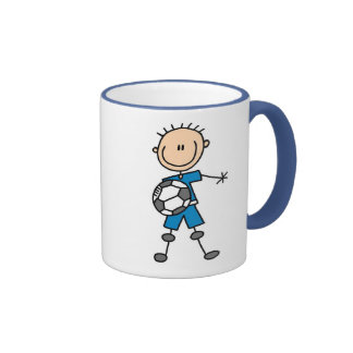 Blue Boys Soccer Mug
