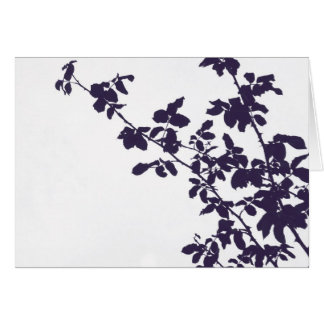 Blue Branches Card