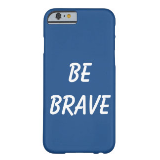 Blue brave Case Barely There iPhone 6 Case