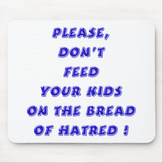 Blue - Bread of Hate Mouse Pad