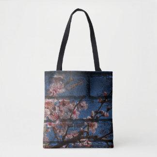 Blue Brick and Blossoms Totes