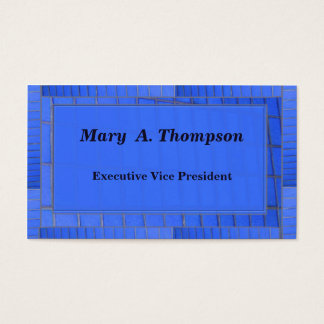Blue Brick design Business Card