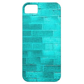 Blue Brick jpg iPhone 5 Cases