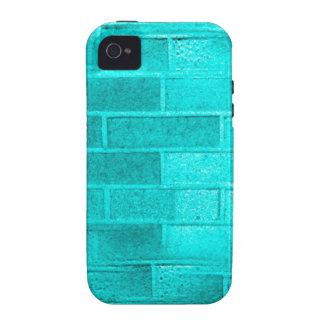 Blue Brick jpg Vibe iPhone 4 Cases