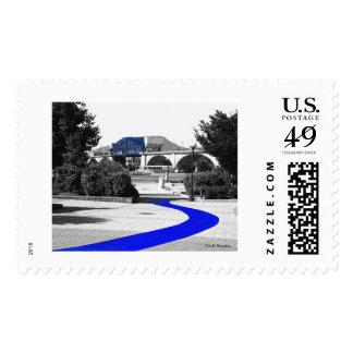 Blue Brick Road Stamp