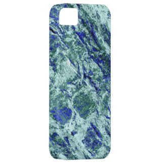 Blue brick wall grunge textures iPhone SE/5/5s case