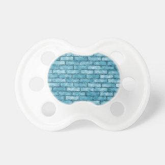 Blue Brick Wall BooginHead Pacifier
