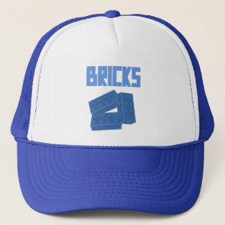 Blue Bricks by Customize My Minifig Trucker Hat