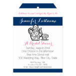 Blue Bridal Tea Party with Color Choice Card