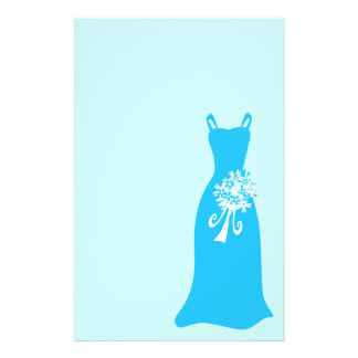 Blue Bridesmaid Bridal Stationery