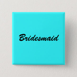 Blue Bridesmaid Pin