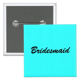 Blue Bridesmaid Pin