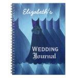 Blue Bridesmaids Wedding Planner Journal