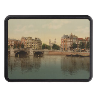 Blue Bridge and the Amstel River, Amsterdam Hitch Cover