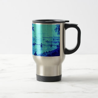 Blue Bridges Travel Mug