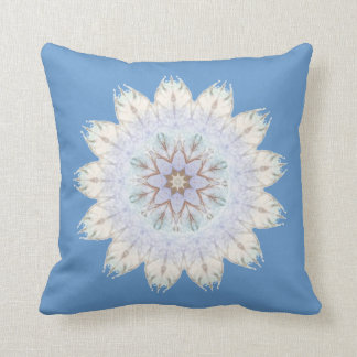 Blue Brown Native American Design First Nations Pillows