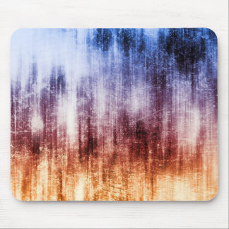 Blue, Brown & Purple Abstract Wash Mouse Pad