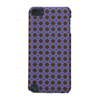 blue brown retro pattern iPod touch 5G cover